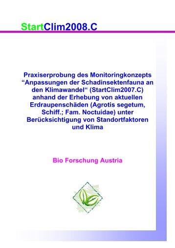 Download Endbericht StartCLim2008.C (pdf, ca. 1,3 MB) - AustroClim