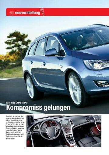 Opel Astra Sports Tourer - Automagazin