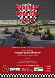 Business Kart Cup 2010 - AM Automagazin