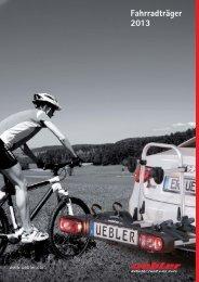 Übler Fahrradträger 2013 - Autoteile Walter Schork GmbH