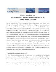 die Customs-Trade Partnership Against Terrorism (C-TPAT)