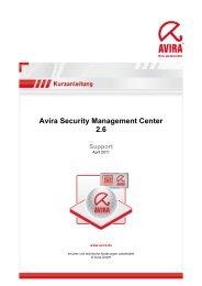 Avira SMC Kurzanleitung herunterladen