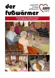 Heimzeitung Fusswärmer 02/2013 (.pdf-Dokument ... - Awo-fuerth.de