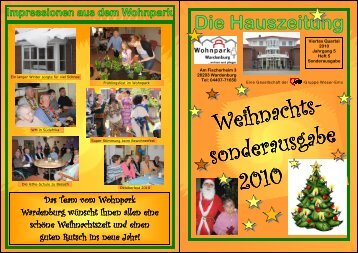 Weihnachts- sonderausgabe .......2010 - AWO Bezirksverband ...