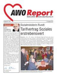 Tarifvertrag Soziales erstrebenswert - AWO Bezirksverband Weser ...