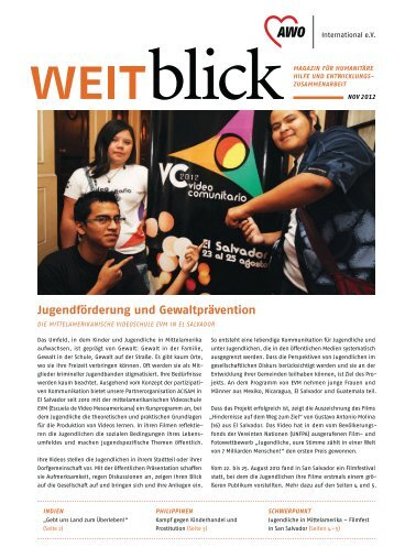 weitblick 2/2012 - AWO international