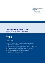 AktStR 2012 Teil II - AWS Arbeitskreis für Wirtschafts
