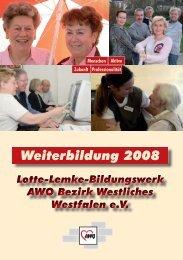 Bildungsangebote - AWO Westliches Westfalen