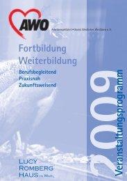 2009Veranstaltungsprogram m - AWO Westliches Westfalen