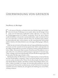 ÜBERWINDUNG VON GRENZEN - Axel Springer AG