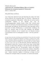 Rede des polnischen Außenministers a.D. ... - Axel Springer AG