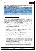 Bankgeheimnis: Der Anlegerschutz ist nur minimal - axis ... - Page 7