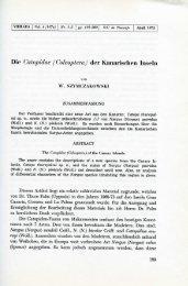 Die Catopidae (Coleoptera) der Kanarischen Inseln. Viereae, 4(1-2)