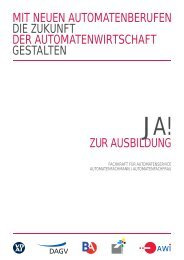 ZUR AUSBILDUNG - BA, Bundesverband Automatenunternehmer e.V.