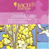Bach Cantatas, Vol. 3 - P.J. Leusink (Brilliant Classics 5-CD)
