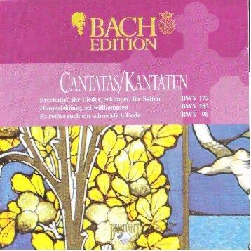 Bach Cantatas, Vol. 3 - P.J. Leusink (Brilliant Classics 5-CD)