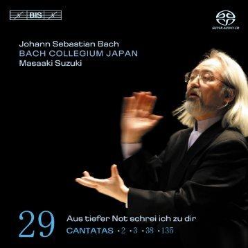 M. Suzuki & Bach Collegium Japan (BIS SACD) - Bach Cantatas