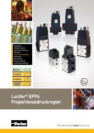 Lucifer® EPP4 Proportionaldruckregler - Bachofen AG