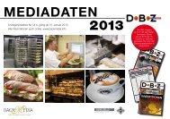 MEDIADATEN 2013 - Backmedia