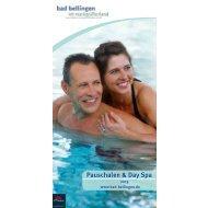 Pauschalen & Day Spa - Bad Bellingen