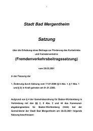 diabetesdorf althausen bad mergentheim stadtplan