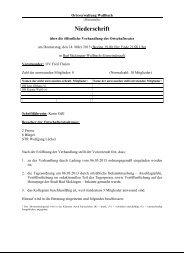 14.03.2013 - Stadt Bad Säckingen