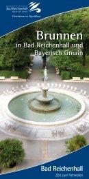 Brunnen - Bad Reichenhall