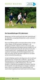 NORDIC WALKING Der Gesundheitssport für ... - Bad Wörishofen