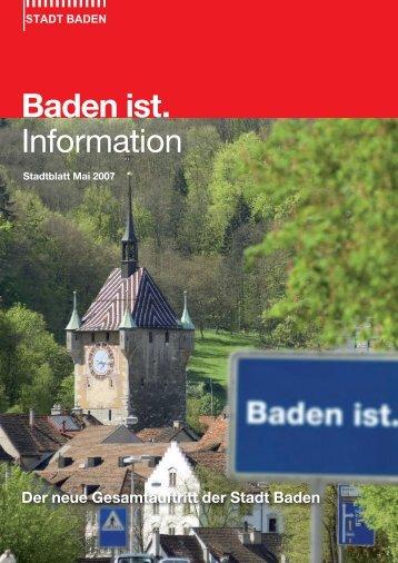 Mai 2007 [PDF, 490 KB] - Stadt Baden
