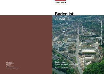 (ERP) Baden Nord - Stadt Baden
