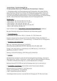 Ausschreibung + Turnierordnung für das 14. Internationale ...