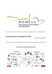 Presseinformation: Konzeptskizze M-E-NES - Stadt Bad Neustadt