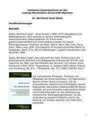 Comeniuspublikationen - Baeuml-rossnagl.de