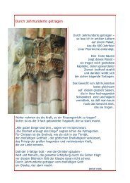Durch Jahrhunderte getragen - Baeuml-rossnagl.de