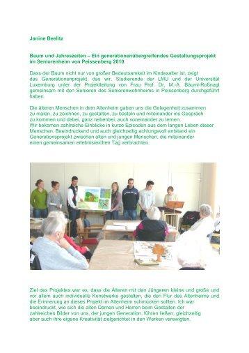 Metareflexion aus studentischer Sicht - Baeuml-rossnagl.de