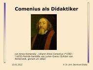 Comenius als Didaktiker - Baeuml-rossnagl.de