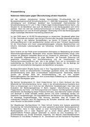1 Presseerklärung Nationaler Aktionsplan gegen ... - BAG-SB