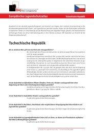Tschechische Republik - Bundesarbeitsgemeinschaft Kinder