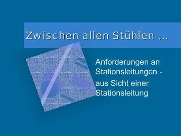 Zwischen allen Stühlen ... - BALK-Bayern