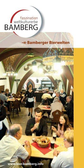 Flyer Bamberger Bierwelten