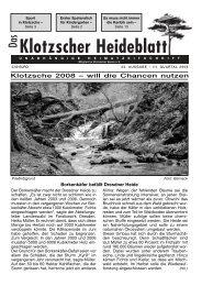 Heideblatt Nr.43 - Klotzscher Heideblatt