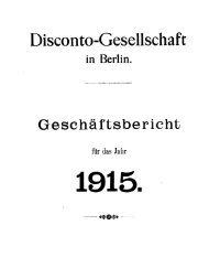 Disconto-Gesellschaft - Historische Gesellschaft der Deutschen ...
