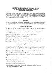Satzung über die Erhebung von Kostenersatz und ... - Bardowick