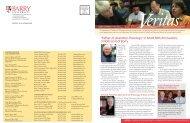 Veritas Newsletter - Barry University