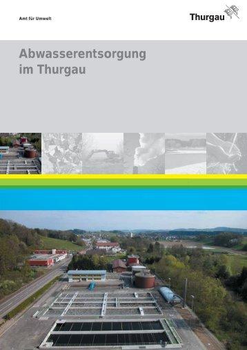 Broschüre Abwasserentsorgung im Thurgau - Gemeinde Steckborn
