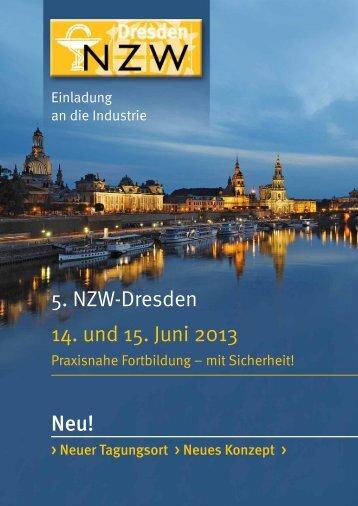 5. NZW-Dresden 14. und 15. Juni 2013 Neu! - basan
