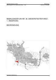 Begründung mit Umweltbericht - Stadtplanung - Bad-Homburg