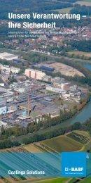 Informationen für die Nachbarn des Werkes ... - BASF Coatings