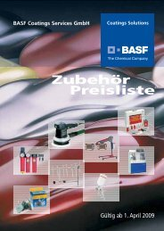 Umschlag 4c - BASF Coatings Services GmbH