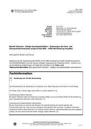 Erste Seite - Bundesamt für Sicherheit im Gesundheitswesen (BASG)